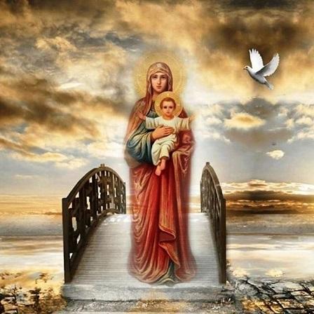 Успение Пресвятой Богородицы 28 августа . Обряды, молитвы, заговоры - Богородица.jpg