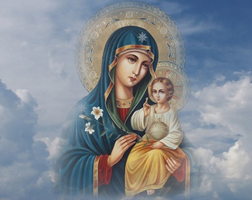 Успение Пресвятой Богородицы 28 августа . Обряды, молитвы, заговоры - Богородица, помощь.jpg
