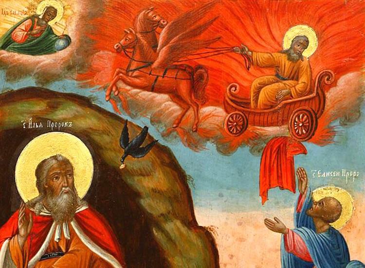 Ильин день, Илья-пророк 2 августа . Приметы, обычаи, заговоры - Ильин день.jpg
