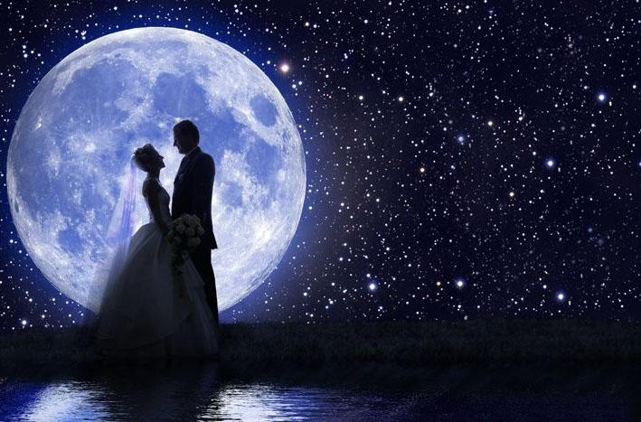 Дата свадьбы. Как выбрать и рассчитать счастливый день? - Луна и Свадьба.jpg