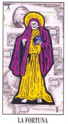 Santa Muerte - призвать золотой дух денег: - Санта Муерте.png