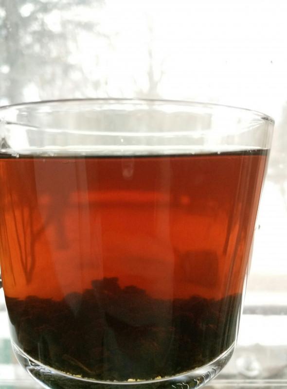 чай заваривается моментально, вкус терпкий и насыщенный, и весьма ароматный - IMG_20180402_164212-1.jpg