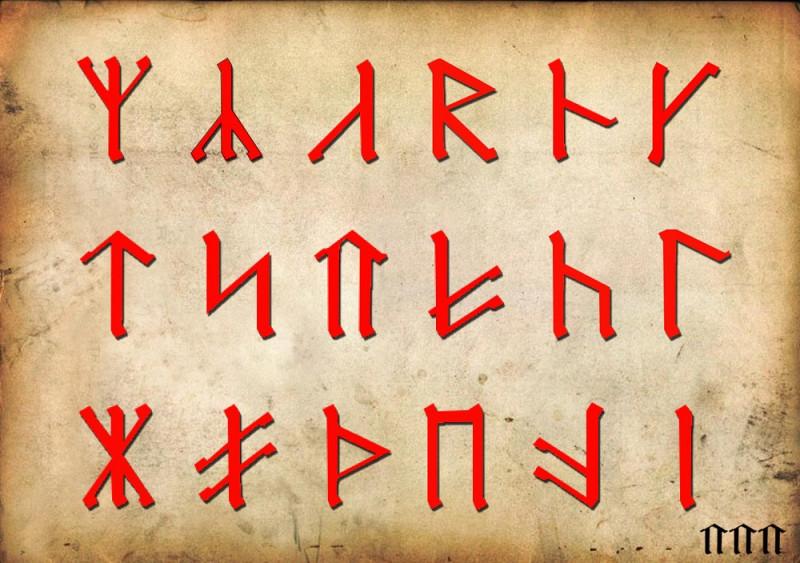 Значение и смысл Славянских рун, личные наработки - футарк_а.jpg