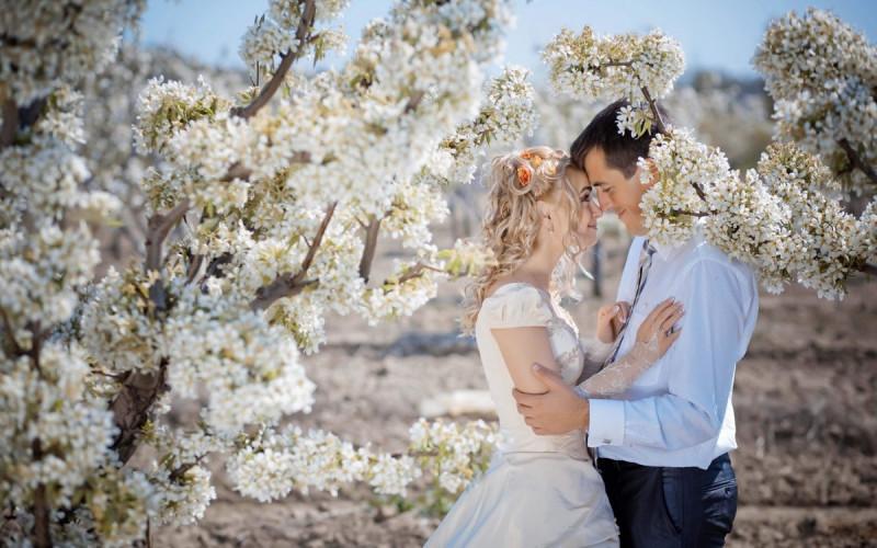 Дата свадьбы. Как выбрать и рассчитать счастливый день? - Весенняя свадьба.jpg